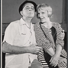 Eddie For Jr. and Jane Connell in rehearsal for the stage production Drat the Cat!