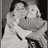 Eddie Foy Jr. and Jane Connell in rehearsal for the stage production Drat the Cat!