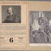 """Alfred Tennyson. Nach Photographie von Elliot und Fry, London. Abbildung aus Wülker, """"Geschichte der Englischen Literatur"""", 2. Auflage.  The late Lord Tennyson, Lady Tennyson, and their son."""