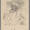 "Wm Thackeray [signature] author of ""Vanity fair."""
