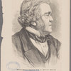 William Makepeace Thackeray, Aetat. 52 -- Born 1811: Died 1863.