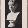Marble bust of Thackeray when a boy. 570. Copy of the boyhood bust of Thackeray, sculptured by J. Devile in 1822...