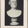 Marble bust of Thackeray by H. Wehner under the direction of E. Onslow Ford.
