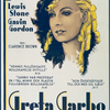 Publicity poster publicizing Greta Garbo in the motion picture Romantik (a.k.a. Romance).