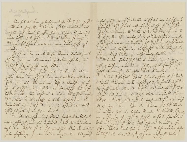 Fascinating Historical Picture of Felix Mendelssohn-Bartholdy on 12/11/1844