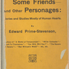 Her enemy, some friends--and other personages: stories and studies mostly of human hearts