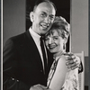 Jose Ferrer and Florence Henderson in rehearsal for the stage production The Girl Who Came to Supper