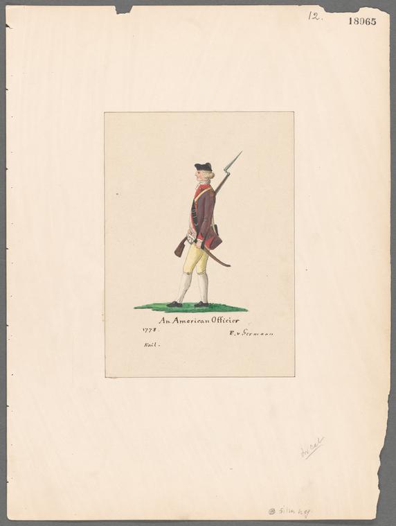 Fascinating Historical Picture of Friedrich Von Germann in 1778