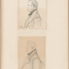 Pencil portraits of Thomas Alderson and the Rev. Henry Tacy