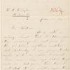 Cunningham, Helen S., ALS to WW. Jun. 11, 1864.