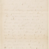 Livensparger, Isaac, ALS to WW. May 7, 1864.