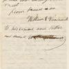 Vandermark, William E., ALS to WW. Dec. 13, 1863.