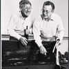 Jack Gilford and George C. Scott in rehearsal for the stage production Sly Fox