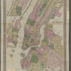 G. Woolworth's Colton's new Map New York City, Brooklyn, Jersey City, Hoboken, etc.