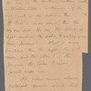 "Holograph memoranda, ""List of Things Recognised by My Lectures,"" 3 sets of notes, unsigned, undated."