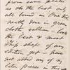 Burroughs, John, ALS to. Mar. 15, [1872]. Previously Mar. 15, [1871].