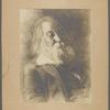 Eakins, Thomas. Four portrait photographs of Walt Whitman [ca. 1887]. Accompanied by photograph of oil portrait.