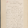 Harris, [William Torrey], ALS to. Oct. 27, 1879.