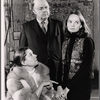 Elizabeth Wilson, John McGiver and Margaret Ladd in rehearsal for the stage production Sheep on the Runway