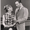Julie Harris and William Shatner in rehearsal for the stage production A Shot in the Dark