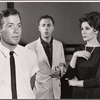 William Shatner, Gene Saks and Louise Troy in rehearsal for the stage production A Shot in the Dark