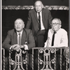 Leland Hayward, Harold Clurman and Harry Kurnitz in rehearsal for the stage production A Shot in the Dark