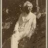 Five photographs. SLC on a rockery, summer 1907, Tuxedo, NY.