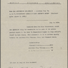 Agreements, correspondence, forms, statements from various theatrical agencies concerning Samuel Langhorne Clemens from the files of the American Play Company. A Connecticut Yankee in King Arthur's Court, 76
