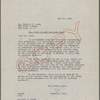 Agreements, correspondence, forms, statements from various theatrical agencies concerning Samuel Langhorne Clemens from the files of the American Play Company. Joan of Arc, 304