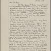 Lyon, Isabel. Holograph notes on the Dr Parker letter.