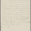 """[""""Mark Twain""""-Cable readings.] Draft of agreement for dividing receipts of lecture tour, between Pond, Cable and Clemens"""