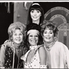 Benay Venuta, Norma Donaldson and unidentified actors in the stage production A Quarter for the Ladies Room