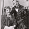 Joyce Carey and Noel Coward in the 1958 Broadway revival of Present Laughter