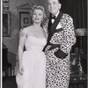 Eva Gabor and Noel Coward in the 1958 Broadway revival of Present Laughter