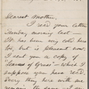Whitman, Louisa Van Velsor, mother, ALS to. Dec. 18, 1866.