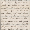 Whitman, Louisa Van Velsor, mother, ALS to. Feb. 19, 1867.
