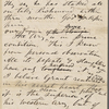 [Lane?, Moses], AL draft to. [Mar. 13(?), 1864]. Previously: unknown correspondent, [n.d.].