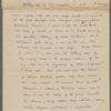 Hearn, Lafcadio, ALS to W. D. O'Connor.  Aug. 9, 1883.