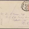 Hearn, Lafcadio, ALS to W. D. O'Connor.  [Feb. 5, 1884].