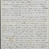 Whitman, Thomas Jefferson, ALS to his mother. Mar. 27, 1848. With postscript by WW, Mar. 28, 1848.