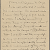 Barbour, Dr. [T. S.], ALS to. Jan. 8, 1906.
