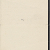 Barbour, Dr. [T. S.], ALS to. Feb. 10, 1906.