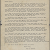 Bliss, [Elisha], letter to. Jan. 22, 1870. Typed copy. Previously: letter to [Frank?] Bliss.