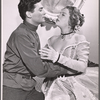 Al Hedison and Uta Hagen in 1956 stage production A Month in the Country