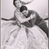 Uta Hagen and Al Hedison in the 1956 stage production A Month in the Country