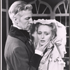 Wesley Addy and Celeste Holm in 1963 stage production A Month in the Country