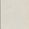 Howells, [William Dean], ALS to. Aug. 3, [1877].