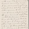 Howells, [William Dean], ALS to. Sep. 15, [1879].