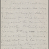 Howells, [William Dean], ALS to. Sep. 17, 1884.