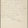 Howells, [William Dean], ALS to. Jul. 24, 1889.